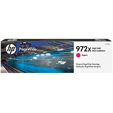 HP 972X (L0S01AN) High Yield Magenta Original PageWide Cartridge (7000 Yield)