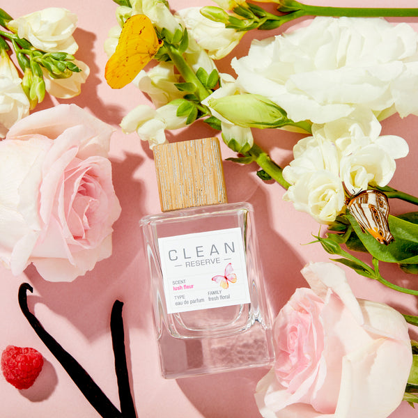 Farm Fresh: Damask Rose in CLEAN RESERVE Lush Fleur