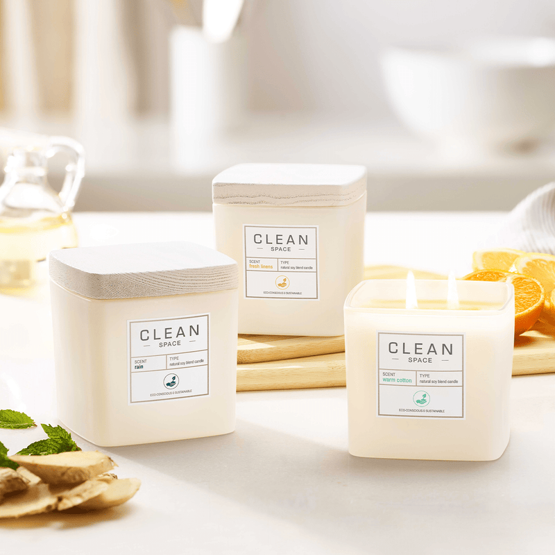 Rain Natural Soy Blend Candle