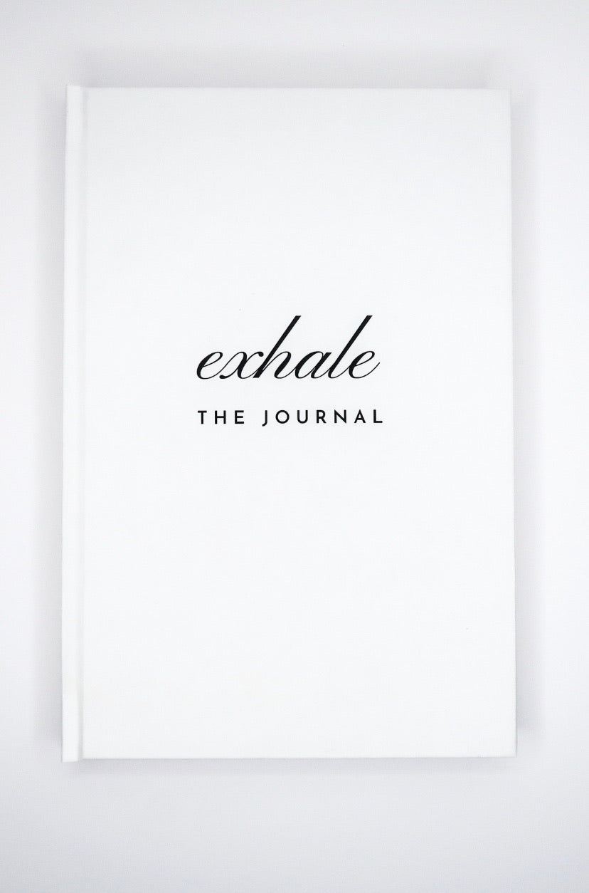 Exhale: The Journal in Cream