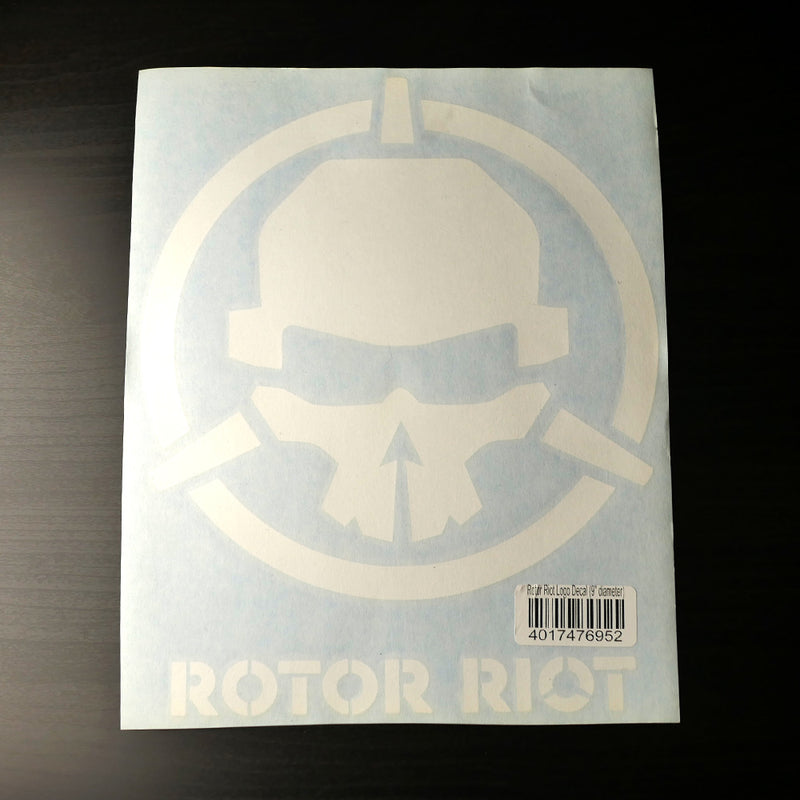 "Rotor Riot Decal 9"" Diameter"