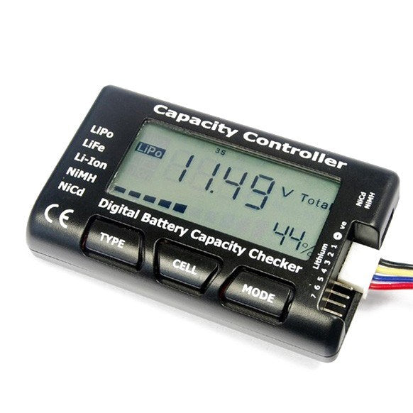 Voltage Cell Meter Battery Capacity Tester