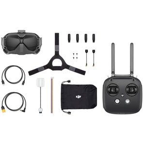 DJI Digital FPV Fly More Combo (Goggles, Air Unit, Controller) - Ultra Low Latency 720p 120FPS Digital HD