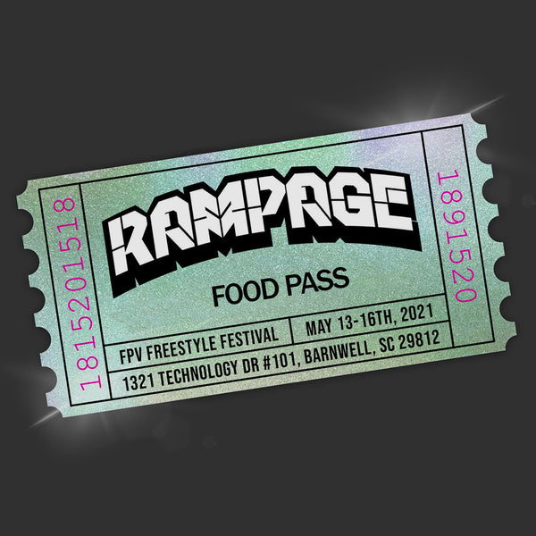 RAMPAGE Food Pass