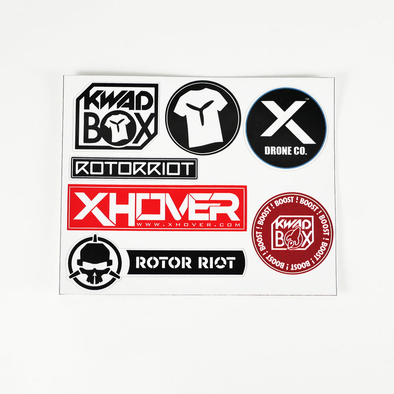 Kwad Box / Rotor Riot Sticker Sheet