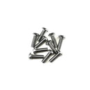 Button Head M3 Stainless Steel Screws 10 pack - Choose your Length