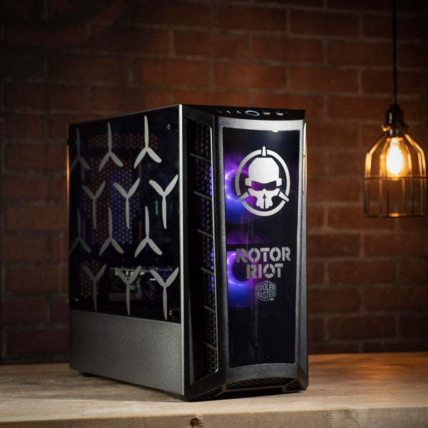 The Racer PC by Apex Gaming and Rotor Riot