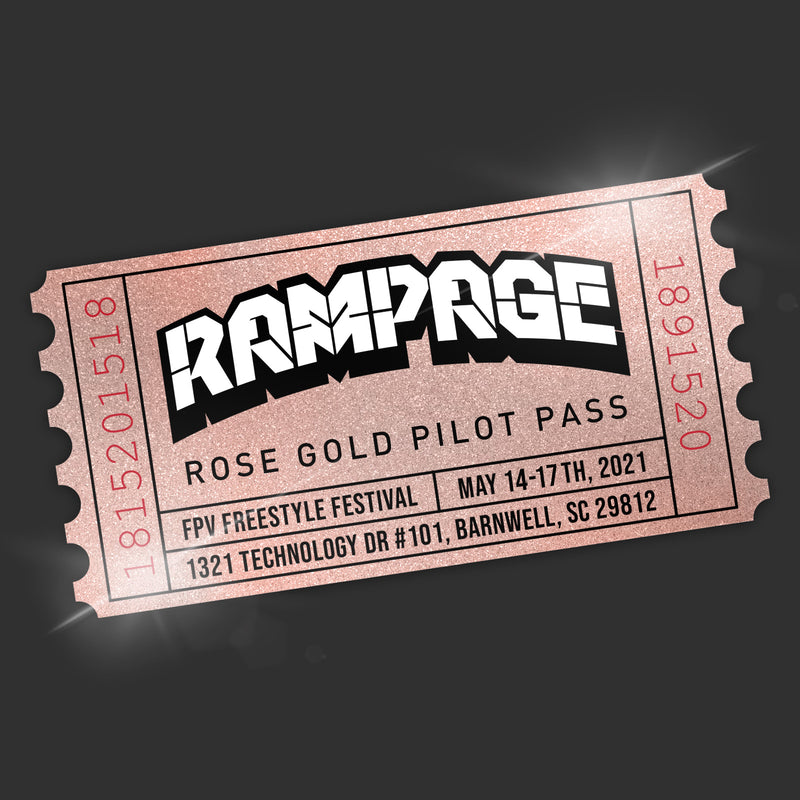 RAMPAGE - Rose Gold Pilot Pass