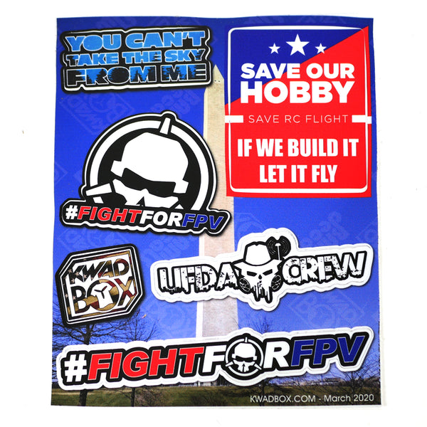 Save Our Hobby Sticker Sheet