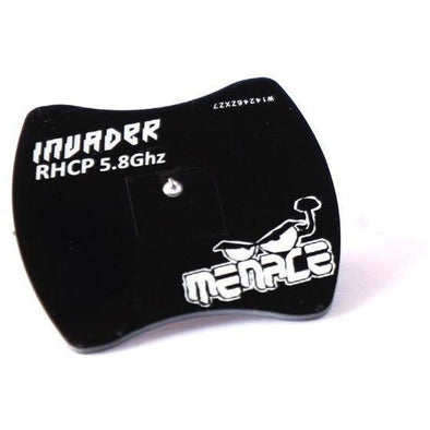 MenaceRC Invader Patch Receiver Antenna - RHCP or LHCP - 1pc - RaceDayQuads