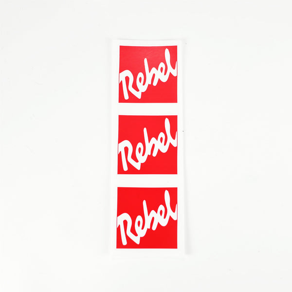 Rebel Logo Sticker Sheet