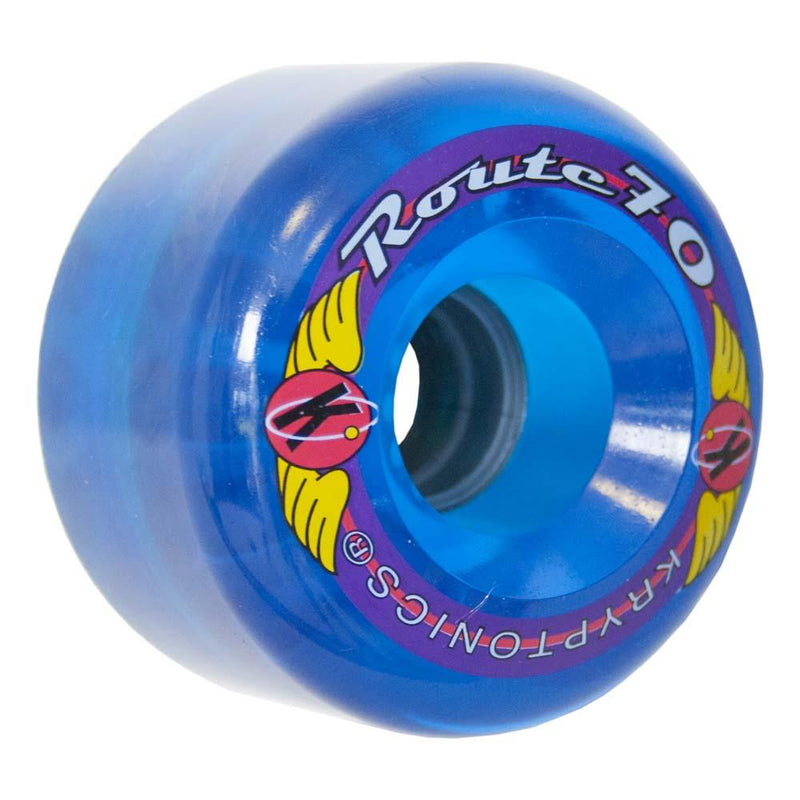 "KRYPTONICS ""ROUTE"" 70MM 78A TRANS BLUE (1 UNIT)"