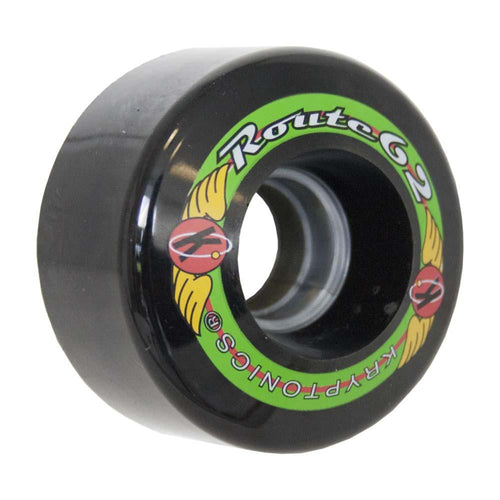 "KRYPTONICS ""ROUTE"" 62MM 78A BLACK (1 UNIT)"