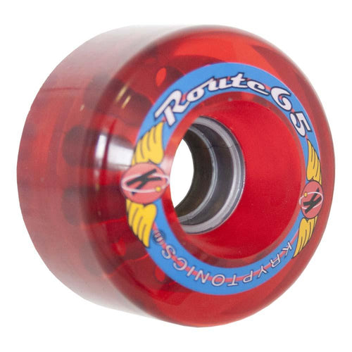 "KRYPTONICS ""ROUTE"" 65MM 78A TRANS RED (1 UNIT)"