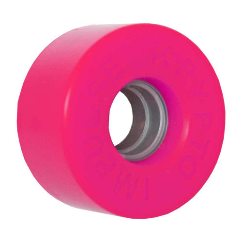 "KRYPTONICS ROLLER ""IMPULSE"" 62MM 78A FLUO PINK (1 UNIT)"