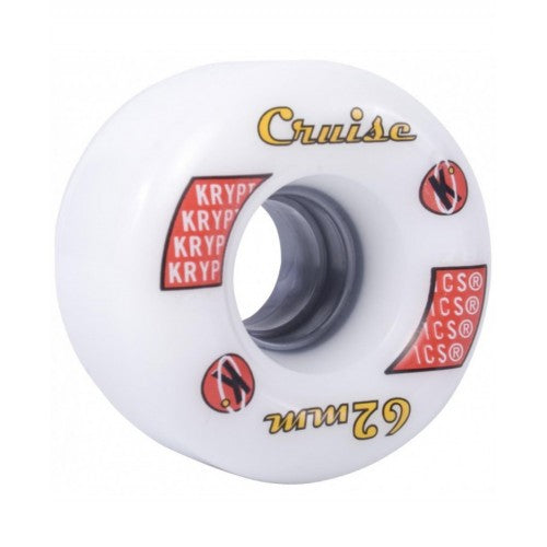 "KRYPTONICS ROLLER ""CRUISE"" 62MM 78A WHITE (1 UNIT)"