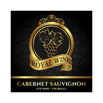 Cabernet Sauvignon Royal Wine Labels (PK50)