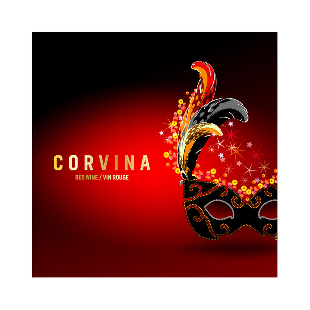 Corvina Carnival Venetian Mask Labels (PK50)