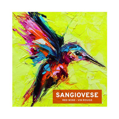 Sangiovese Flying Colorful Bird (PK50)