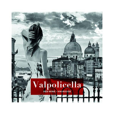 Valpolicella Girl in Venice Grand Canal Italy (PK50)
