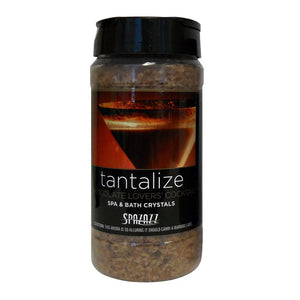 Spazazz Tantalize Chocolate Lovers' Cocktail Spa and Bath Crystals - 17 oz