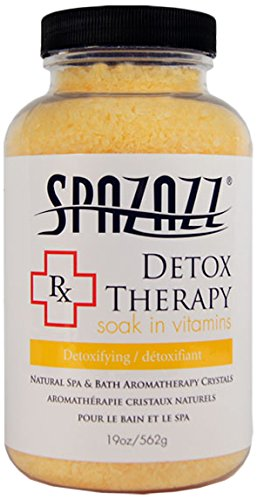 Spazazz Detox Therapy RX Collection Vitamin Soak Bath Crystals - 19 oz