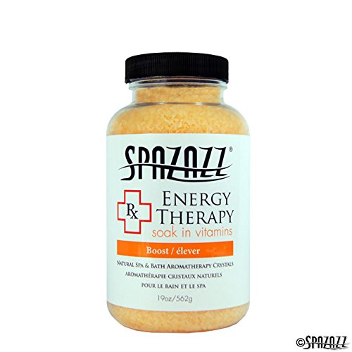 SpaZazz Energy Therapy RX Collection Crystals - 19 oz
