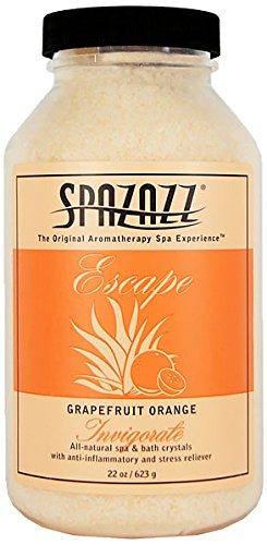 Spazazz Invigorate Grapefruit Orange All-natural Spa and Bath Crystals - 22 oz