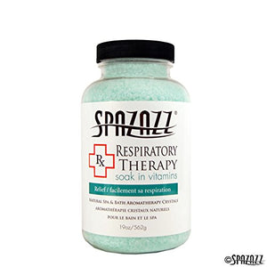 Spazazz Respiratory Relief RX Therapy Collection Bath Crystals - 19 oz - HotTubPoolStore