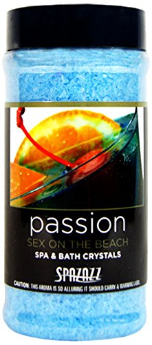 Spazazz Passion Sex on the Beach Aromatherapy Spa and Batch Crystals - 17 oz