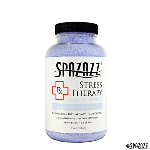 Spazazz Stress Therapy RX Collection Bath Crystals - 19 oz