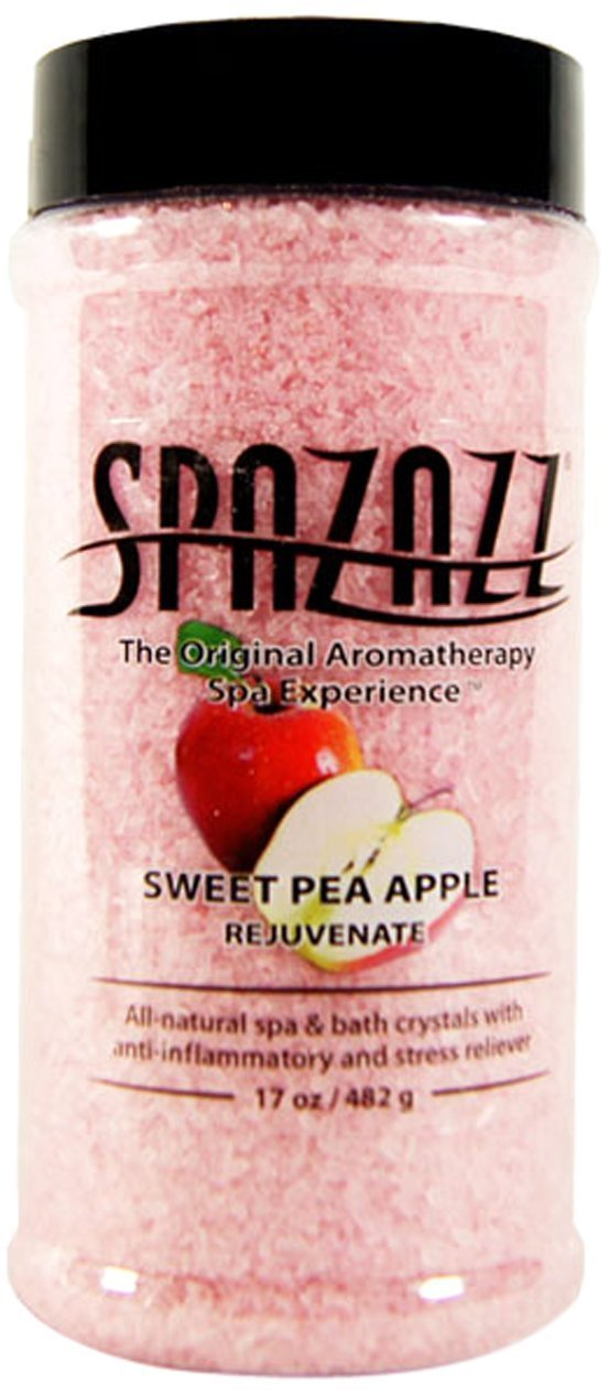 Spazazz Aromatherapy Sweet Pea Apple Rejuvenate Crystals - 17 oz