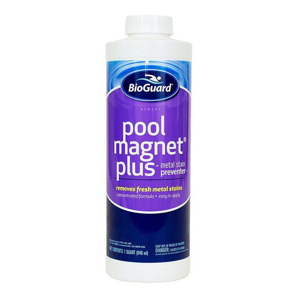 BioGuard Pool Magnet Plus Metal Stain Preventer - 1 Quart