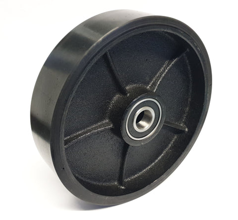 Polyurethane Steer Wheel 180mm Diameter AC25 Total Lifter 128TA4374 - Pallet Trucks Direct
