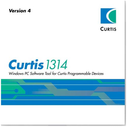 Curtis 1314K-4401 OEM Windows PC Software Tool for Curtis Programmable Devices - Pallet Trucks Direct