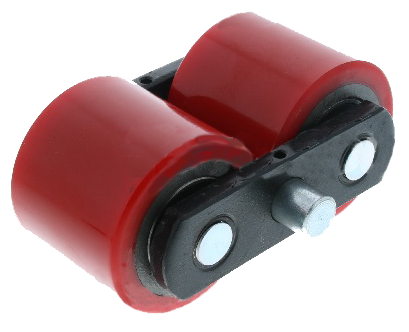 Tandem Polyurethane Load Roller Wheel Assembly Complete AC25 Total Lifter 134TA3676 - Pallet Trucks Direct