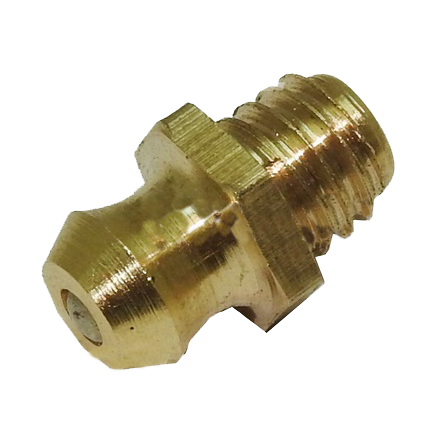 Hexagonal Grease Nipple Straight M6 Copper DF2000 Total Lifter 144TA2877 - Pallet Trucks Direct