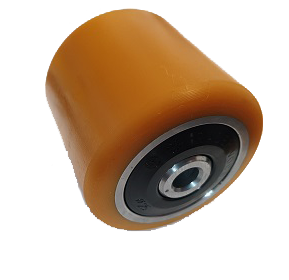 Polyurethane Tandem Load Roller Wheel LPE200 BT Toyota 220212 - Pallet Trucks Direct