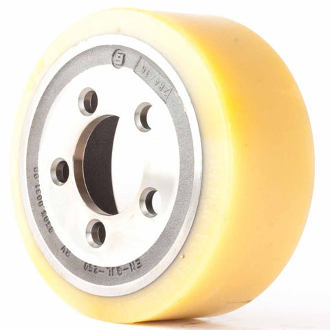 Vulkollan Traction Drive Wheel LCS12 Lift Mate 4000332001 - Pallet Trucks Direct