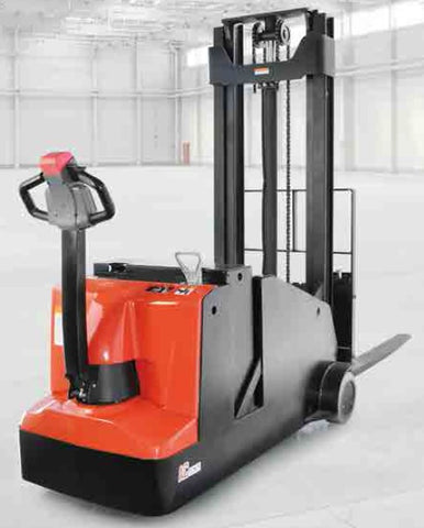 EP Equipment ES10-10CA - 3000mm Lift Height Electric Counterbalance Pallet Stacker - Pallet Trucks Direct