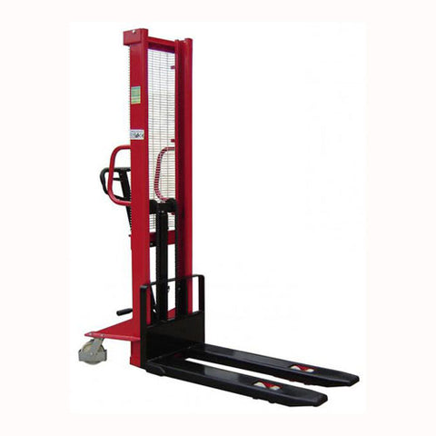 Lift Mate KI1500 - 1600mm Lift Height Manual Wrap Over Pallet Stacker - Pallet Trucks Direct