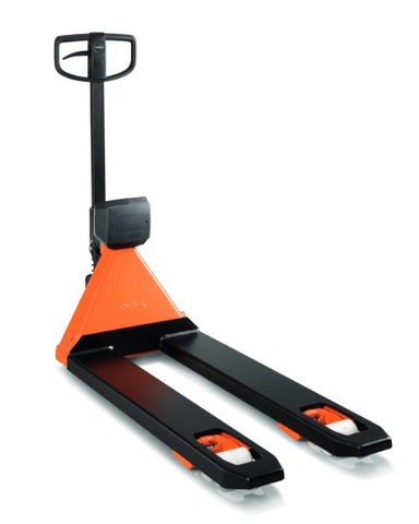 BT Toyota LHM200SC Weigh Scale Pallet Truck - Pallet Trucks Direct