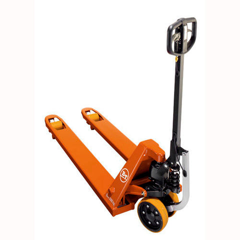 BT Rolatruc Toyota Pro Lifter LHM230P - 520mm x 1000mm Assisted Start Pallet Truck - Pallet Trucks Direct