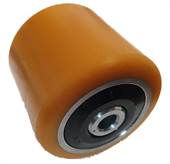 Polyurethane 85mm x 110mm x 12mm Single Load Roller Wheel MP20X Yale - Pallet Trucks Direct