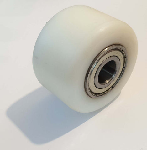 Nylon Single Load Roller Wheel 80mm x 50mm x 20mm HLPT550 Clarke Strongarm ZJ55093 - Pallet Trucks Direct