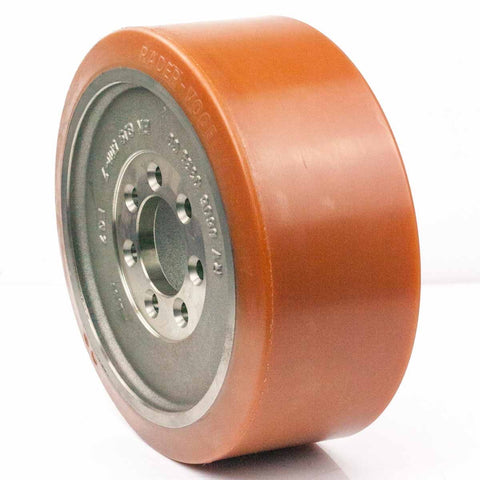 Vulkollan Drive Wheel 350mm x 127.5mm VRE150 BT Toyota 220403 - Pallet Trucks Direct