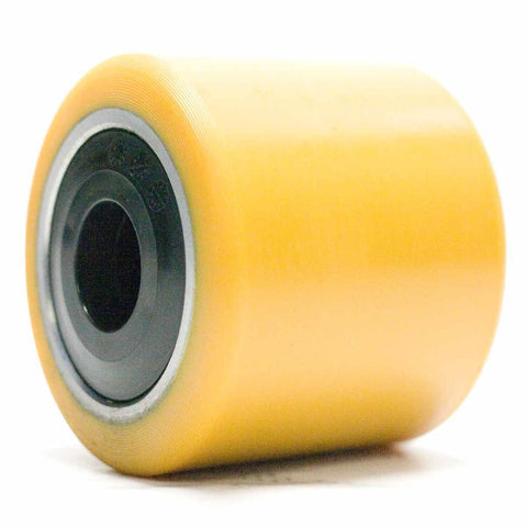 Polyurethane Single Load Roller Wheel 85mm x 95mm x 20mm SPE160 BT Toyota 217298 - Pallet Trucks Direct