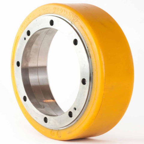 Polyurethane Drive Wheel LWE130 BT Toyota 201801 - Pallet Trucks Direct