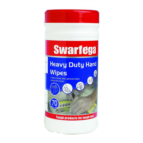 Swarfega SWHD70W Heavy Duty Hand Wipes 70 Wipes