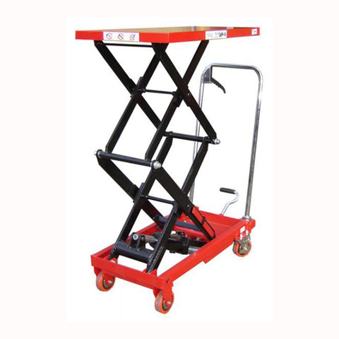 150kg Double Scissor Lift Table